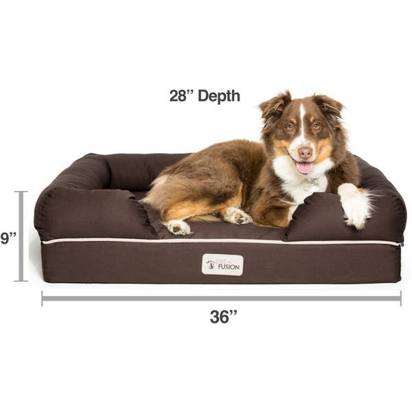 Shop PetFusion Ultimate Memory Foam Dog Bed and Lounge