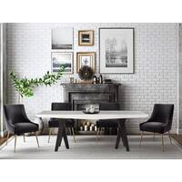 Westwood Elm Wood Dining Table Free Shipping Today