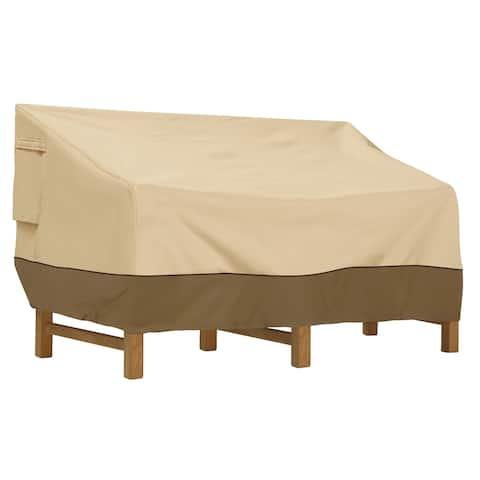 Classic Accessories Veranda Water-Resistant 88 Inch Deep Seated Patio Sofa/Loveseat Cover