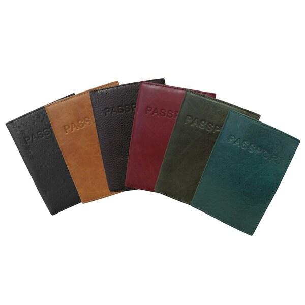 Amerileather Leather Passport Holder