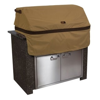 Classic Accessories Hickory® Heavy-Duty Built-In BBQ Grill Top Cover, Small