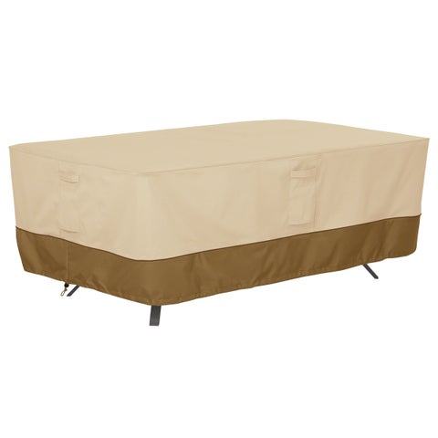 Classic Accessories Veranda Rectangular/Oval Patio Table Cover, X-Large
