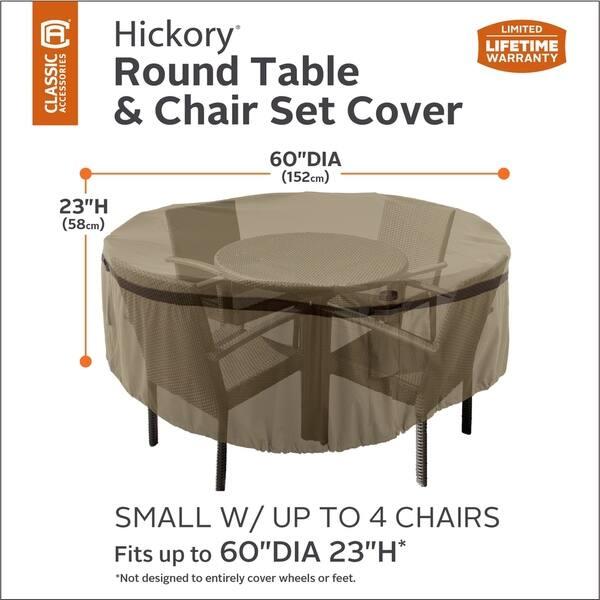 Hickory Heavy Duty Round Patio Table