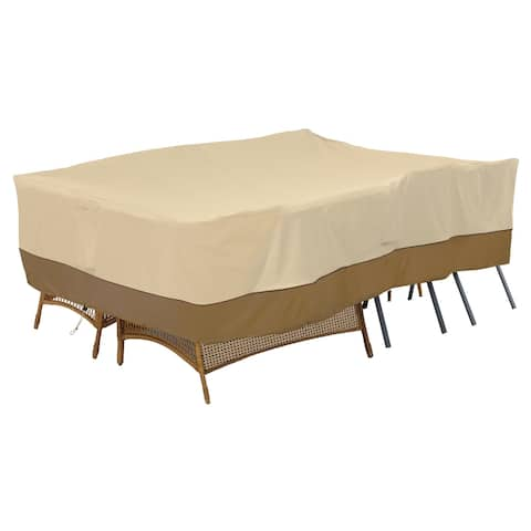 Classic Accessories Veranda Water-Resistant 100 Inch General Purpose Patio Furniture Cover