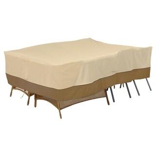 Classic Accessories Veranda Conversation Set/General Purpose Patio Furniture Cover, X-Large