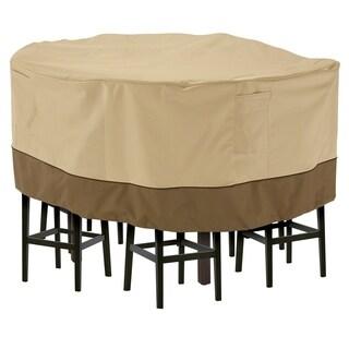 Classic Accessories Veranda™ Tall Round Patio Table & Chair Set Cover, Medium