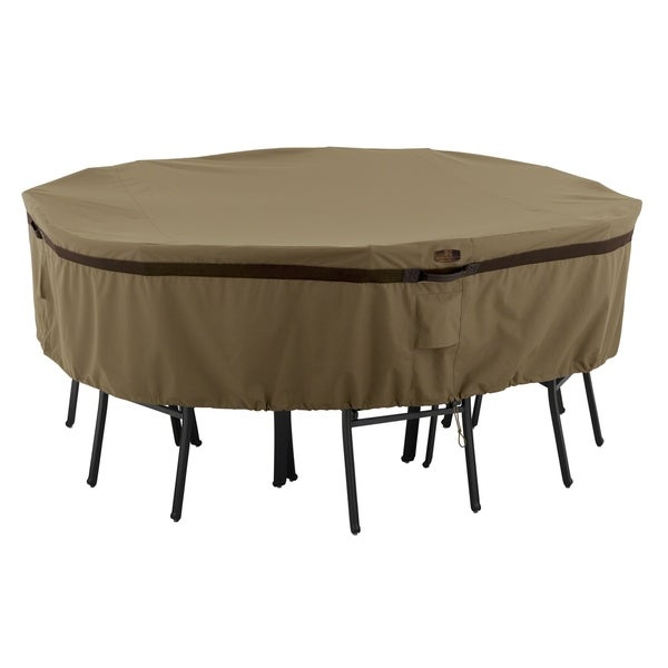 Shop Classic Accessories Hickory 174 Heavy Duty Round Patio