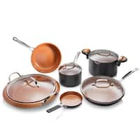 Gotham Steel 10 Piece All Inclusive Nonstick Copper Cookware Set