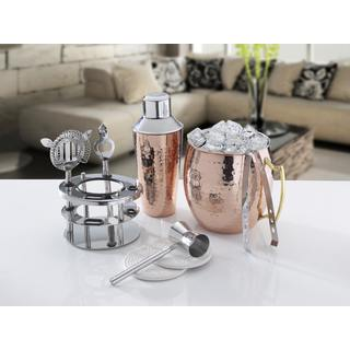 Mikasa Hammered Moscow Mule 6 Piece Bar Set