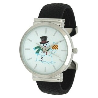 Olivia Pratt Seasonal Holiday Cuff Watch