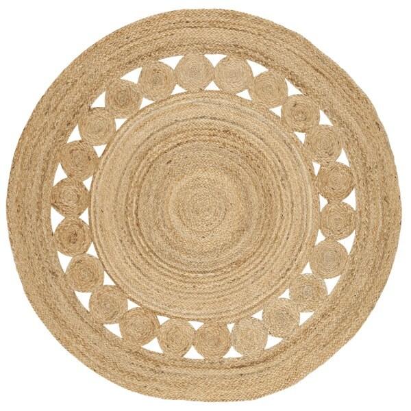 Safavieh Hand-Woven Natural Fiber Natural Jute Rug - 4' Round