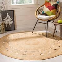 Safavieh Hand-Woven Natural Fiber Natural Jute Rug - 5' Round