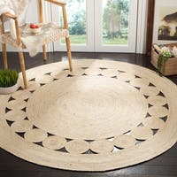 Safavieh Handmade Natural Fiber April Ivory Jute Rug - 5' x 5' Round