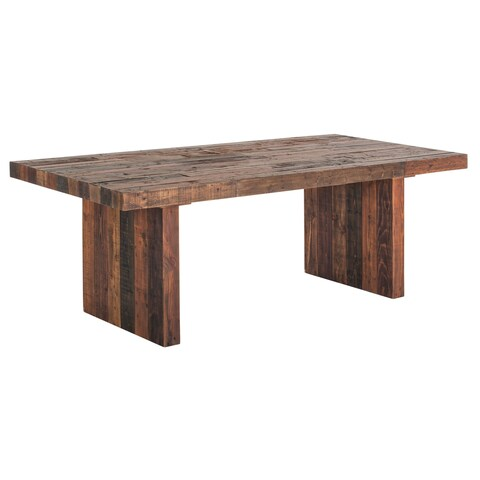 Aurelle Home Vintage Antique Bright Small Wood Dining Table