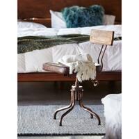 Aurelle Home Que Heavy Linen Luxury Throw Blanket