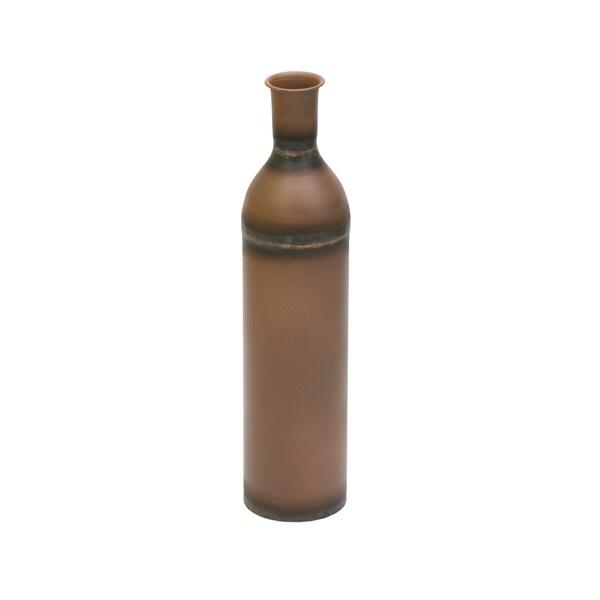 Shop Aurelle Home Aged Finish Rustic Vase On Sale Free Shipping