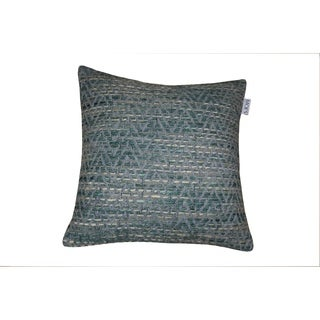 Carmichael Green 20-inch Square Feather Pillow
