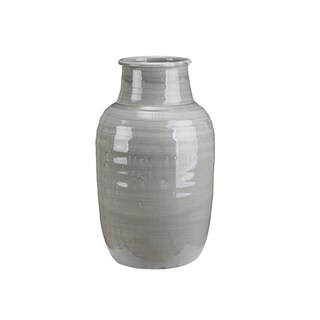 Kitsilano Light Grey Terracotta Vase