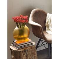 Aurelle Home Round Form Glass Vase
