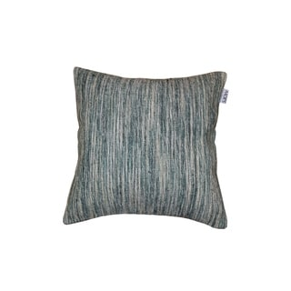 Aurelle Home Luxury Green 20-inch Square Contemporary Feather Pillow