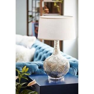 Morroco Silver Iron 1-light Table Lamp