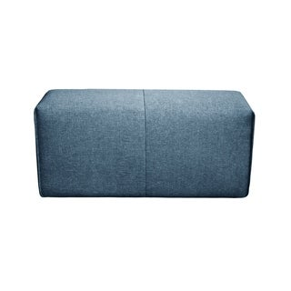 Aurelle Home Upholstered Modular Long Ottoman