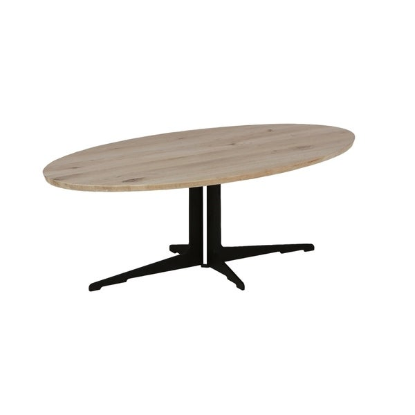 Silva Brown Wood Coffee Table