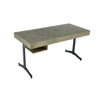 Aurelle Home Craftsman Wood Computer Desk