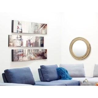 Aurelle Home Cityscape Metal Contemporary Wall Decor