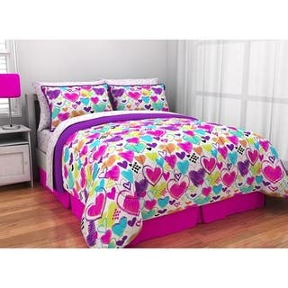 Pop Shop Bright Hearts 8-piece Bed in a Bag Set https://ak1.ostkcdn.com/images/products/18613105/P24712195.jpg?impolicy=medium