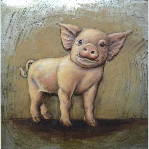 Aurelle Home Pig Iron Wall Decor