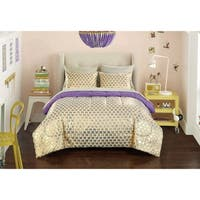Pop Shop Gold Hearts 7-piece Bed in a Bag Set