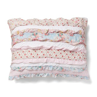 Leah Cotton Patchwork Sham