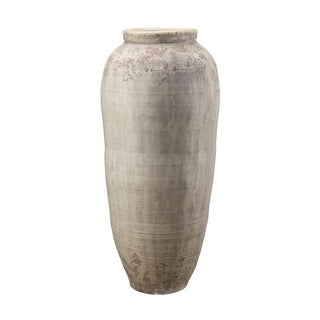 Aurelle Home Large Handmade Natural Terracotta Vase