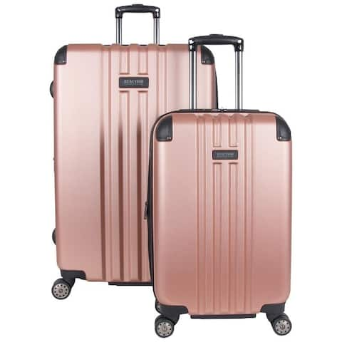 "Kenneth Cole Reaction Reverb Lightweight 2-Piece Expandable Hardside 8-Wheel Spinner Luggage Set (20"" & 29"" Set)"