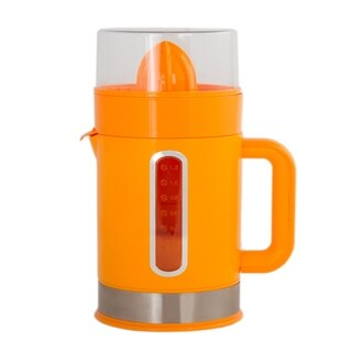 Stylish Orange Electric Juicer Healthy Living Citrus Squeeze Juicer