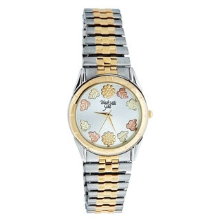 Black Hills Gold Mens Two-Tone Watch