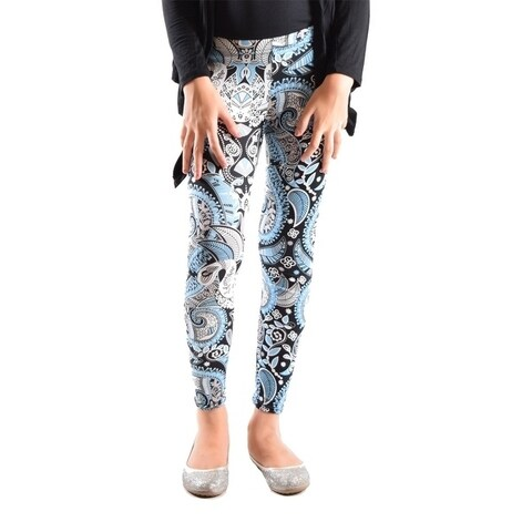 Girl's Fun Printed Leggings Soft and Light