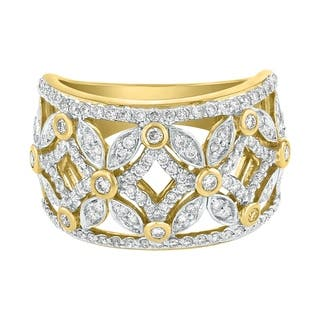 14K Yellow Gold 3/4ct Diamond Fashion Open Cut Out Band Ring - White|https://ak1.ostkcdn.com/images/products/18614988/P24713779.jpg?impolicy=medium
