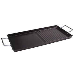 Stove Top Griddle Plate 18 x 10 Double Burner Griddle Tray