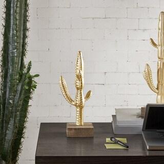 Madison Park Cactus Gold Decor - Medium