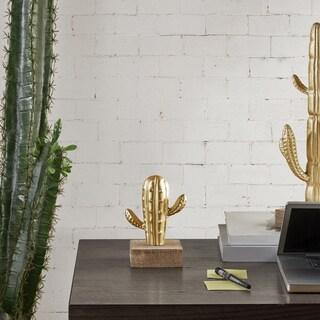 Madison Park Cactus Gold Decor - Small