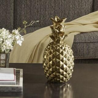 Madison Park Signature Pineapple Gold Decor - Large