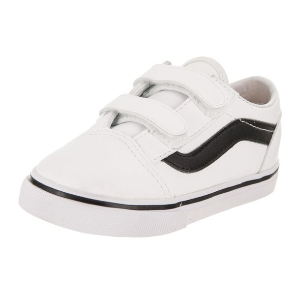 edc34a232f Shop Vans Toddlers Old Skool V (Classic Tumble) Skate Shoe - Free ...