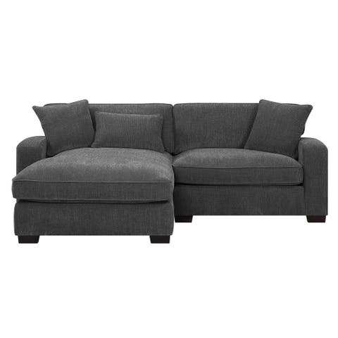 Emerald Home Repose Ultra Soft Chofa LSF Chaise Sectional