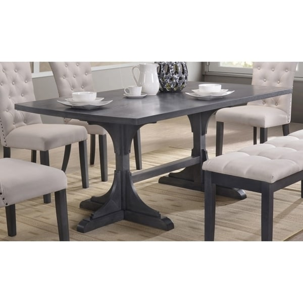 Best Quality Furniture Traditional Rectangular Dining