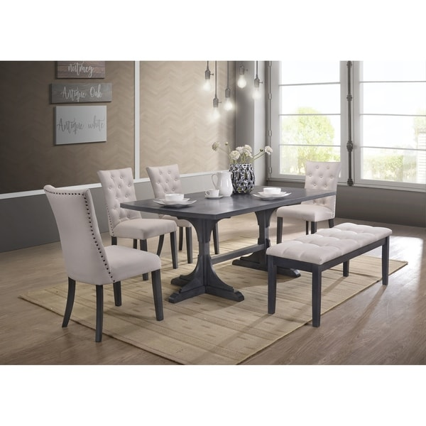 Shop Best Quality Furniture Traditional Rectangular Dining
