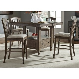 Candlewood Weathered Grey 5-piece Gathering Dinette Set