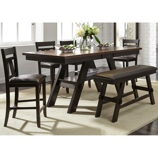 Lawson Espresso 6-piece Gathering Dinette Set