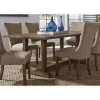 Havenbrook Rustic Russet Trestle Table